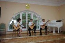 Учащиеся Жиличской детской школы искусств